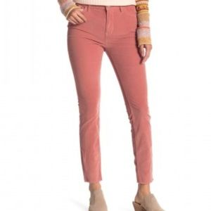 Free People High Waist Skinny Corduroy Pants (205)